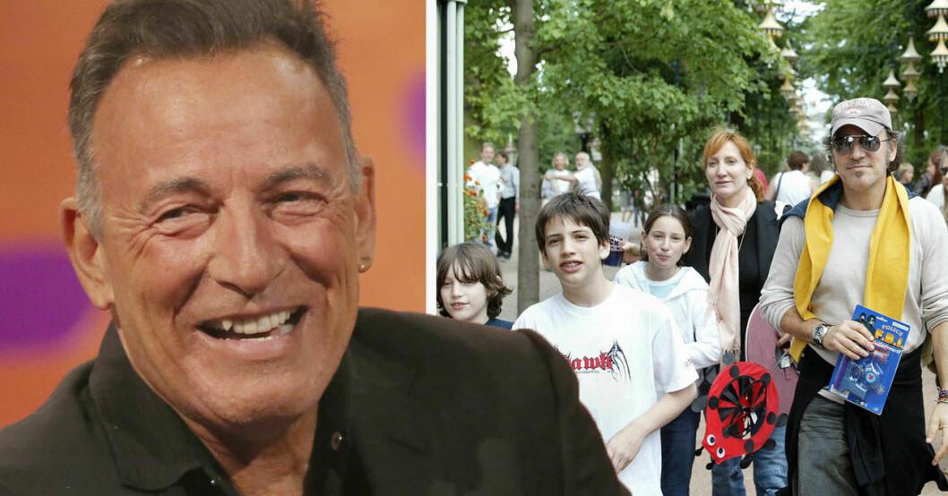 Bruce Springsteen värnar om sina barn och familj.