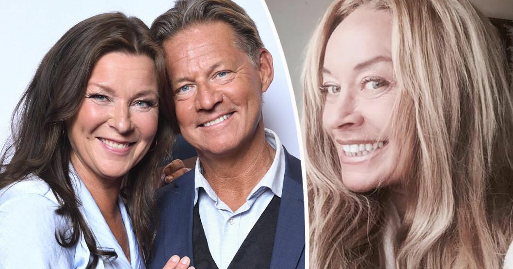 Lotta Engberg, Mikael Sandström och Camilla Eggenberger.