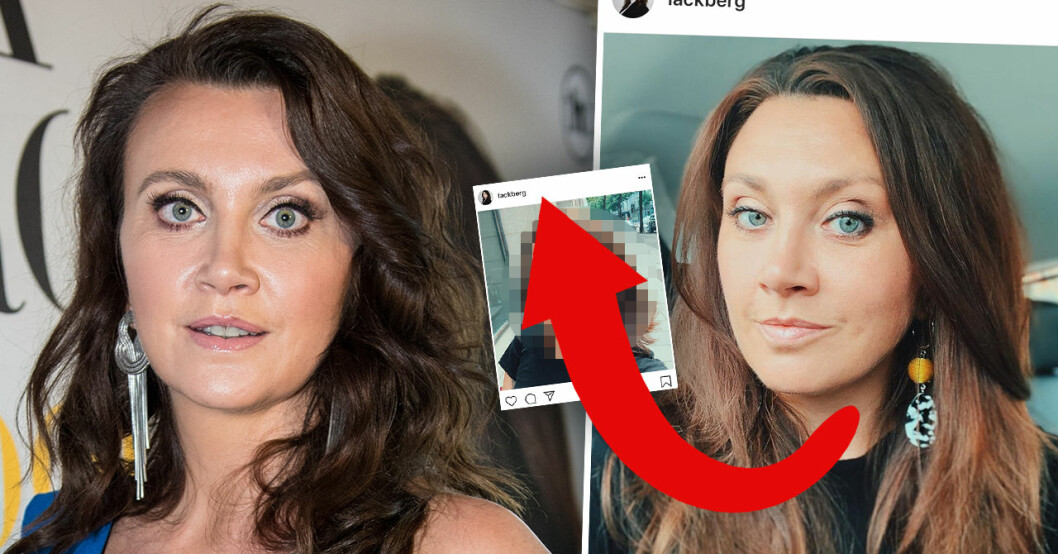 Camilla Läckberg om sin nya frisyr