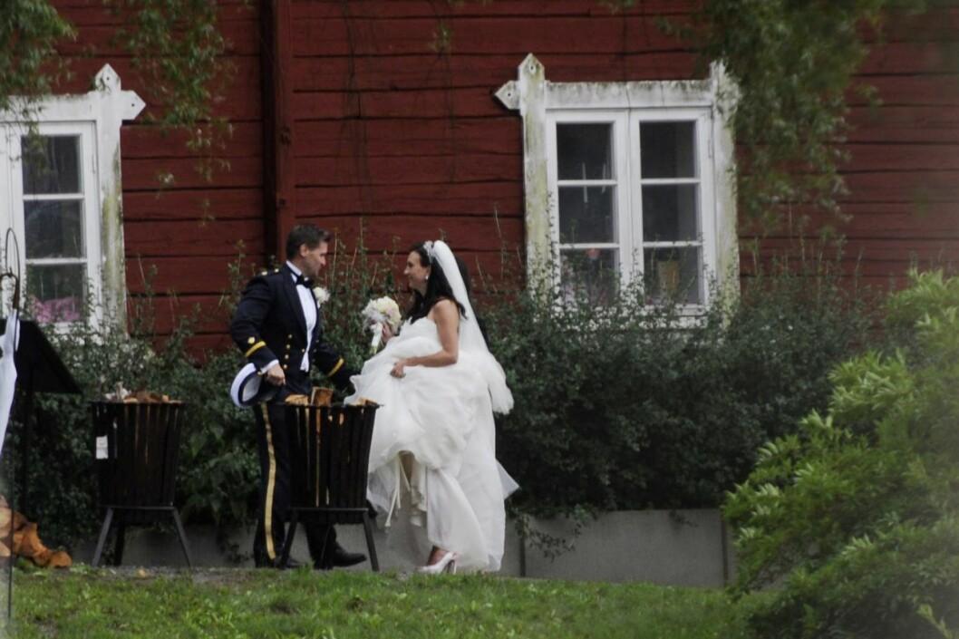 Bröllopet mellan Camilla Läckberg och Martin Melin