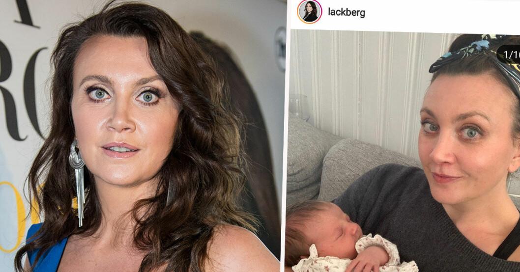Camilla Läckbergs barnbesked.