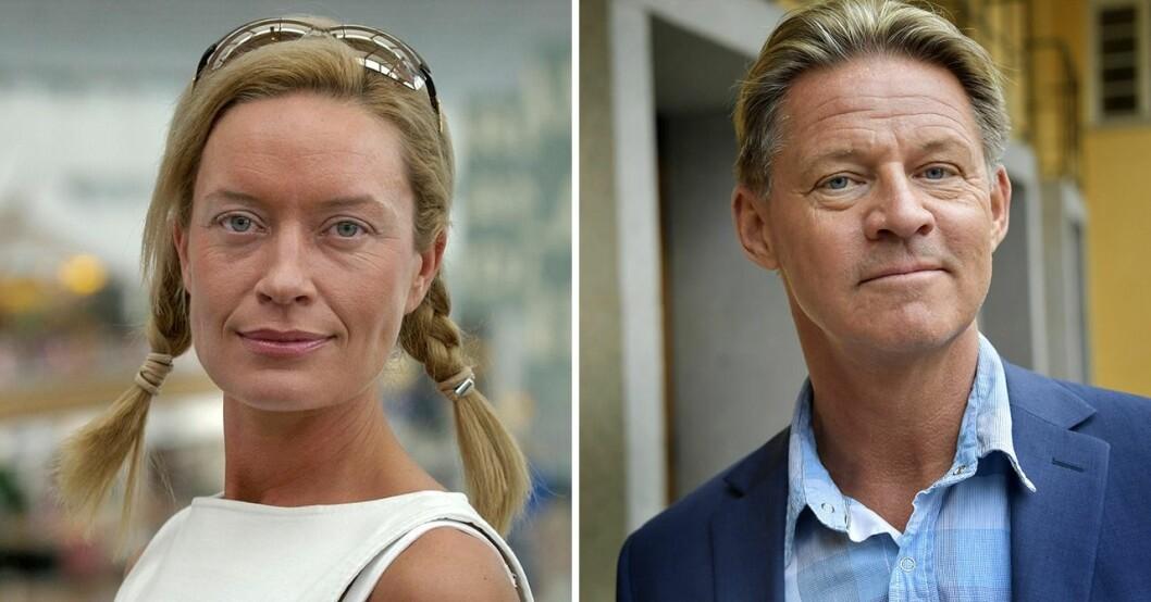 Camilla Eggenberger och Mikael Sandström