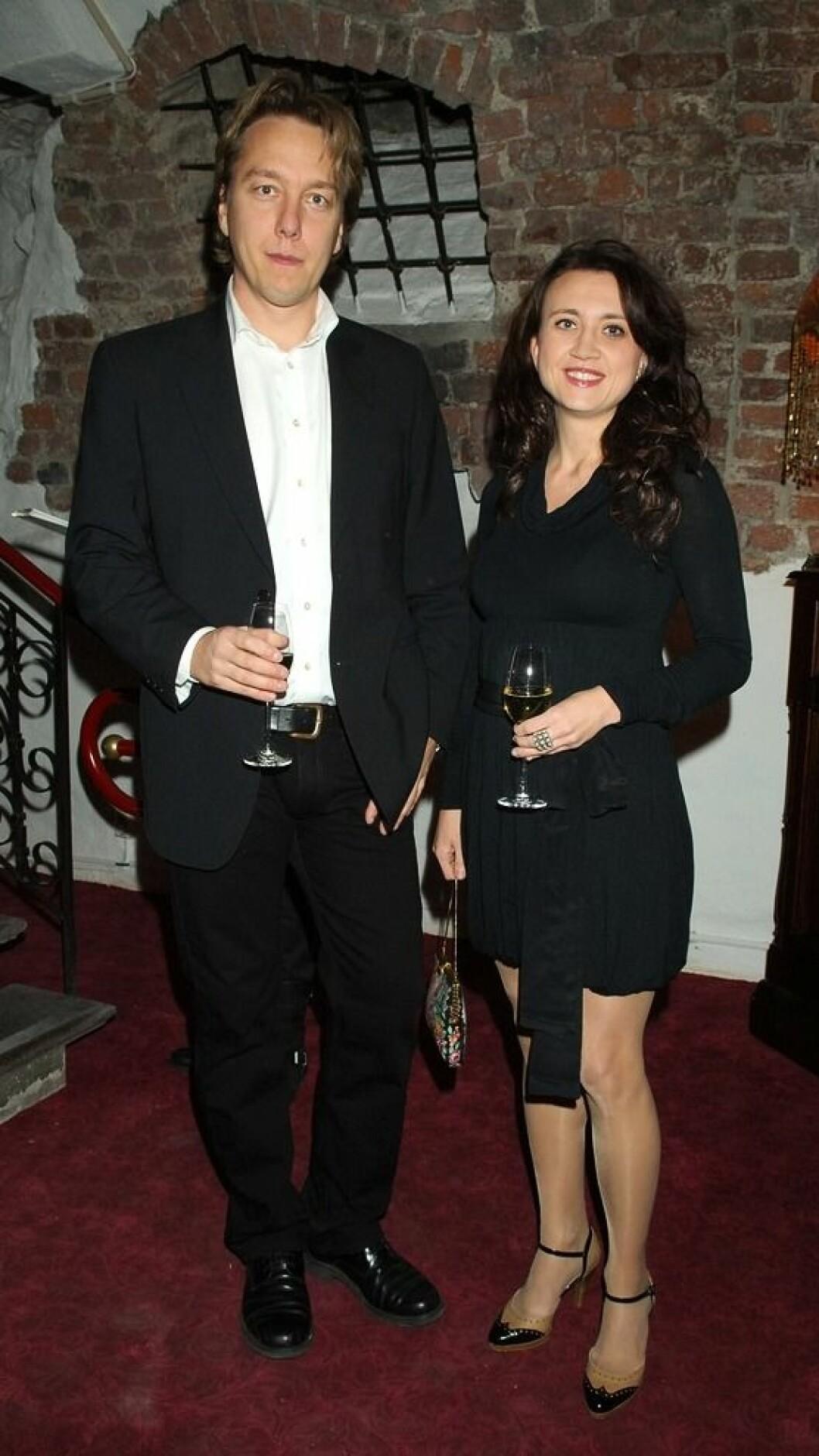 Camilla Läckberg med ex-make Micke Eriksson