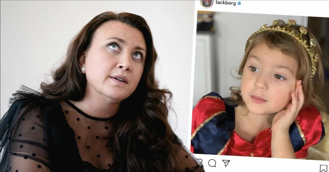 Camilla Läckbergs sorg efter orden till dottern Polly