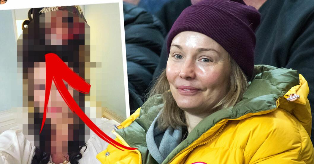 Följarnas chock efter ovanliga bilden på Carina Berg – väcker starka reaktioner
