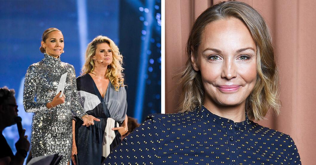 Carina Bergs känga mot kollegorna på Kristallen-galan