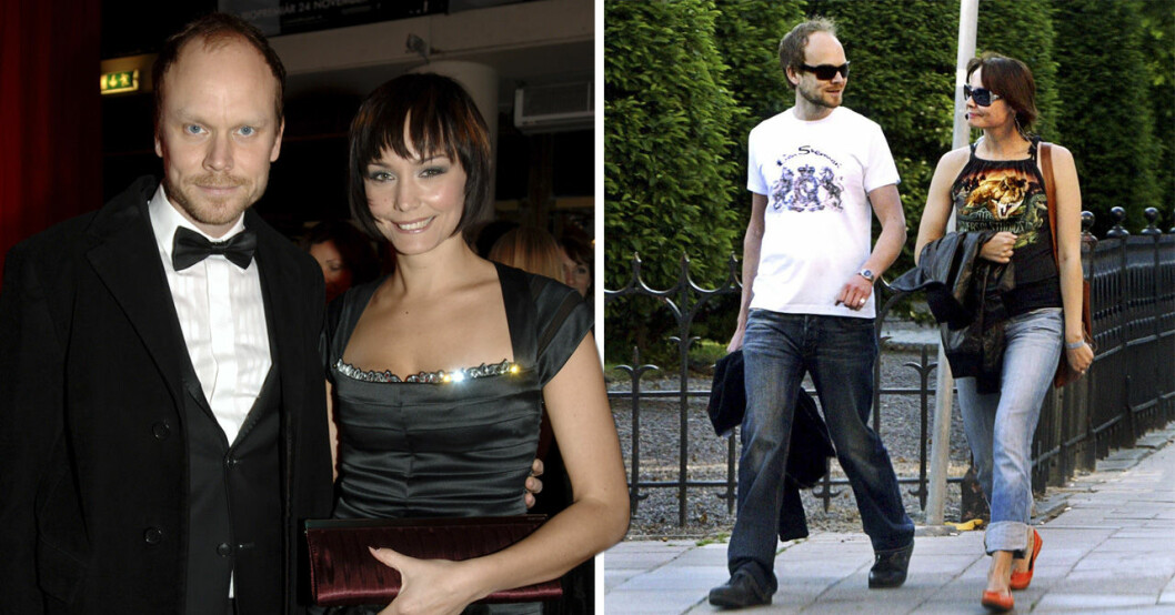 Carina Berg och Kristian Luuk relation