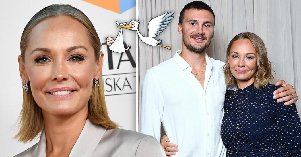 Carina Berg och maken Erik