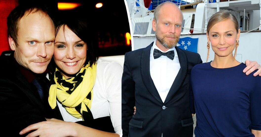Carina Berg och Kristian Luuk