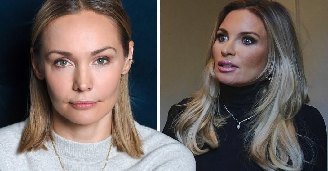 Carina Bergs ord om sprickan med Carolina Gynning – efter återföreningen med Viktor Philipson