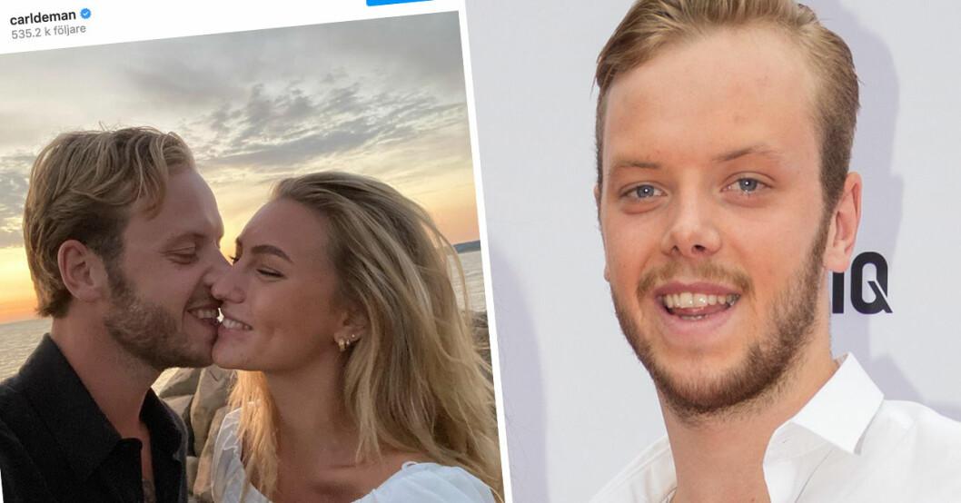 Carl Déman och Sanna Jörnvik