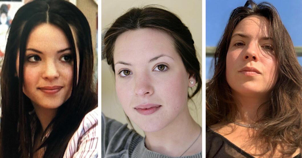 Carla Abrahamsen 2004, 2009 och 2020.