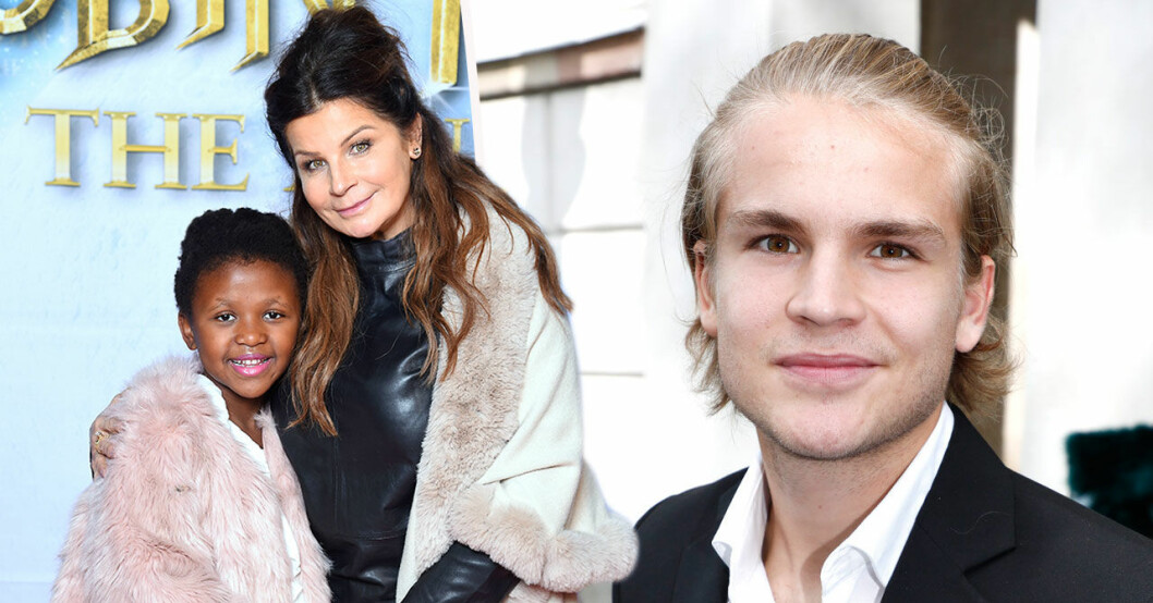 Carola Häggkvist om relationen mellan syskonen Amadeus Sögaard och Zoe.