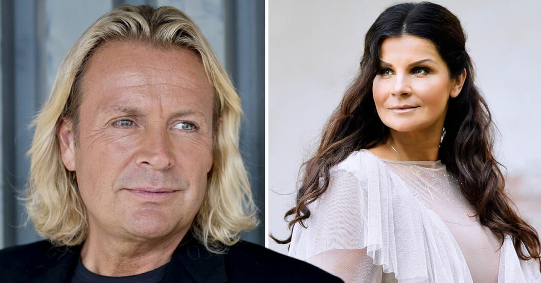 Carola Häggkvist och Runar Sögaard