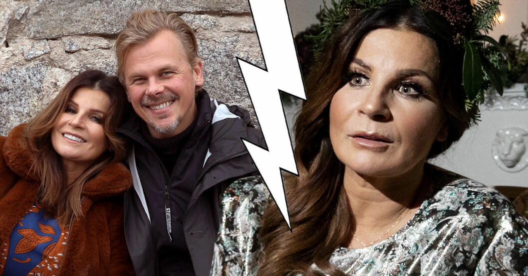Carola Häggkvist och Jimmy Källqvist uppbrott
