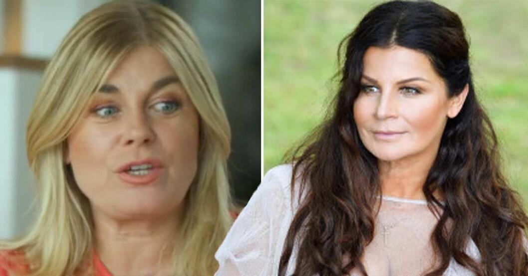 Pernilla Wahlgren, Carola Häggkvist