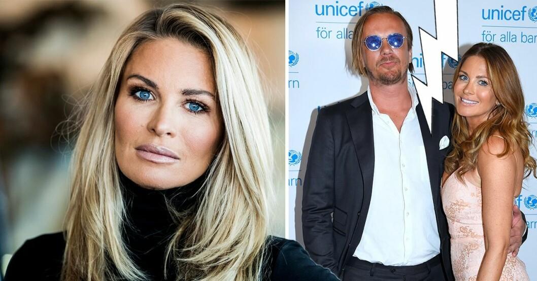 Carolina Gynning och Viktor