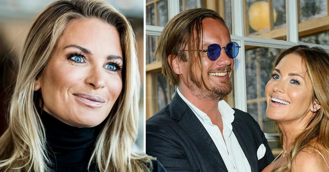 Carolina Gynning och Viktor philipson