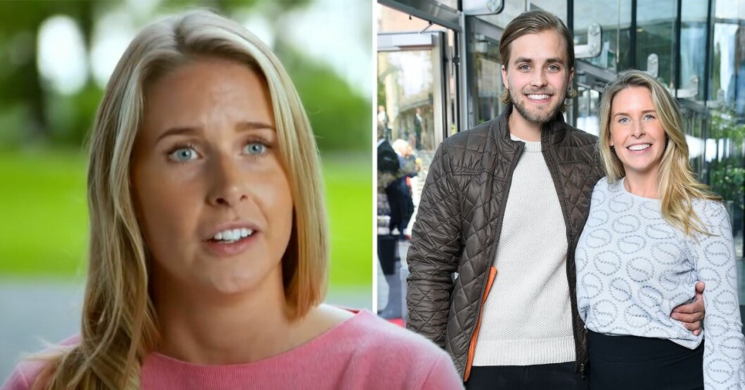 Caroline Kejbert och Joacim Rickling