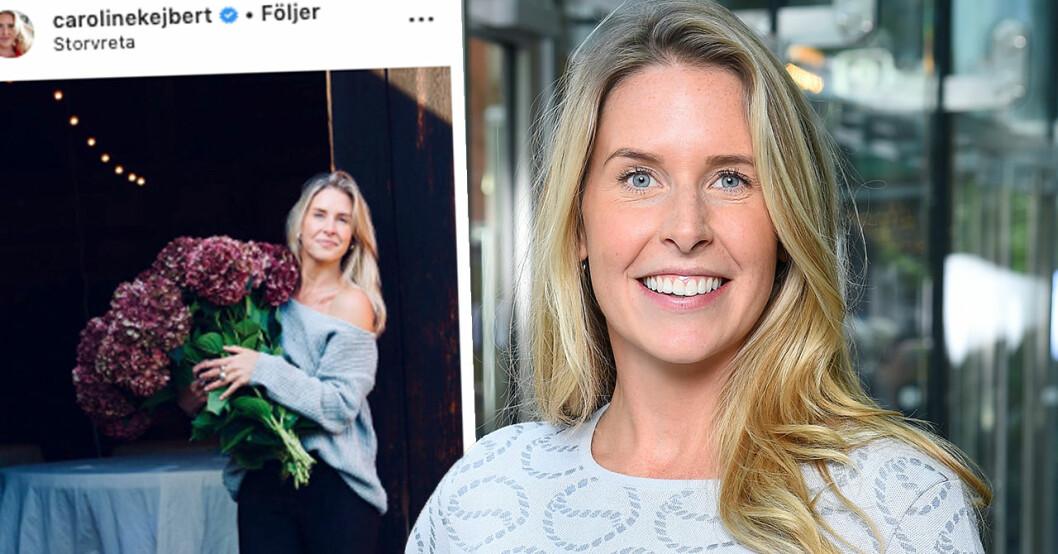 Caroline kejberts beslut om bloggandet efter dottern Wildas födsel