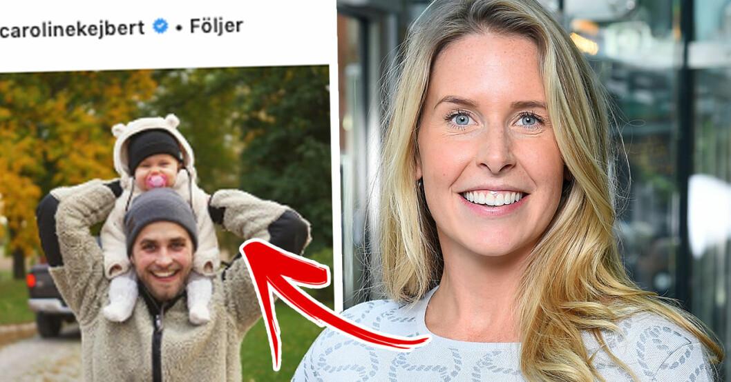 """Caroline Kejbert om nya insikten med dottern Wilda: """"Vad hände?"""""""