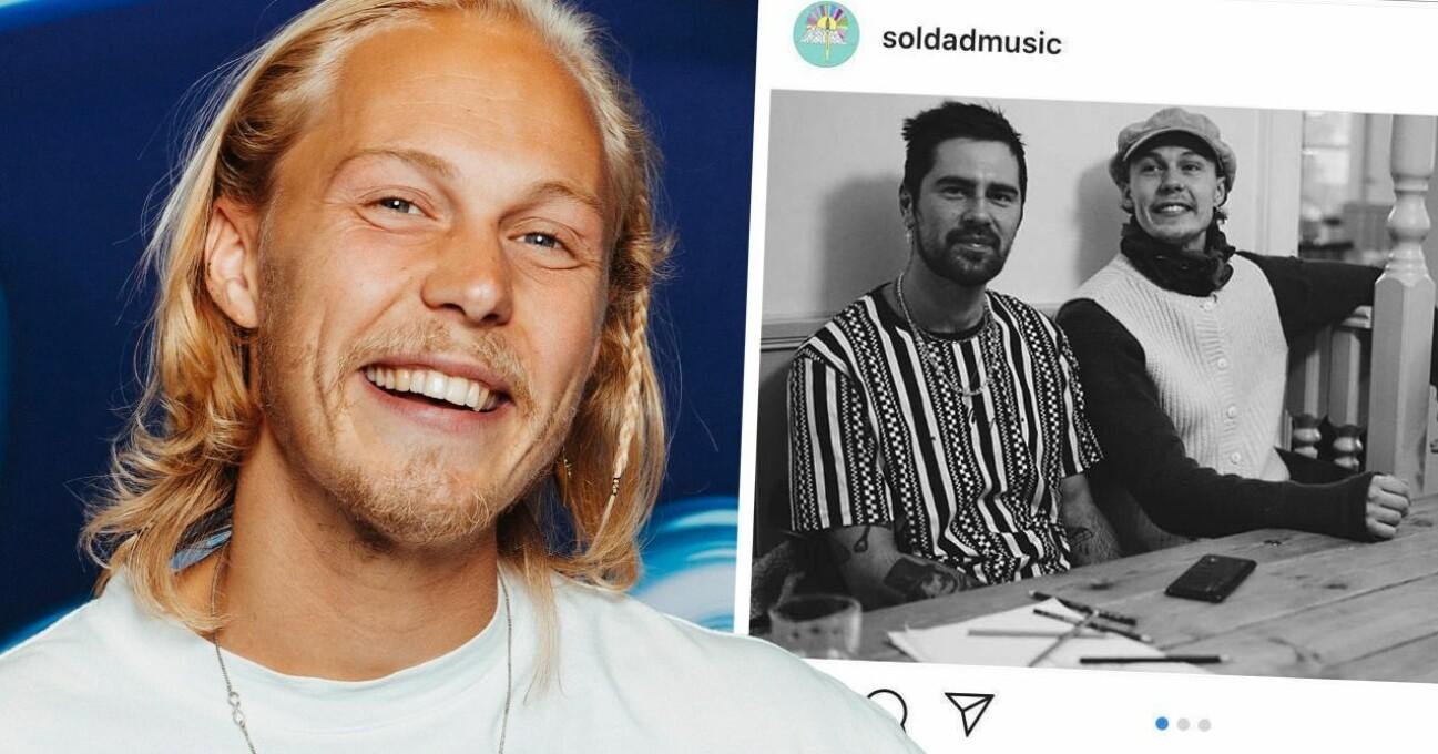 Caspar Camitz och Niklas Åkerlund