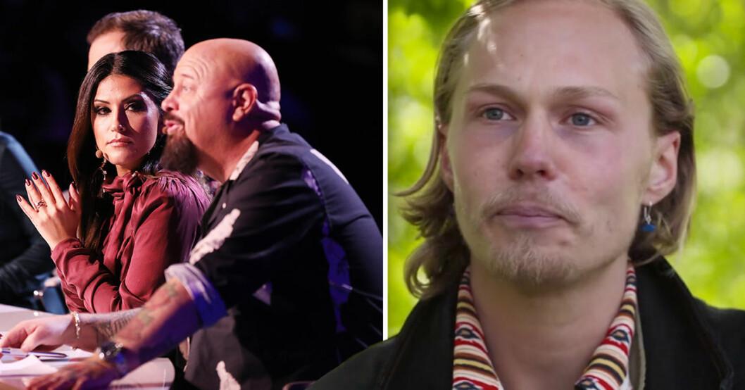 Caspar i Idol 2020