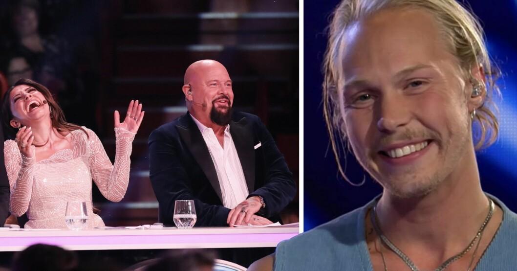 """Juryn mållös efter Caspar Camitz uppträdande i Idol 2020: """"Så starkt"""""""