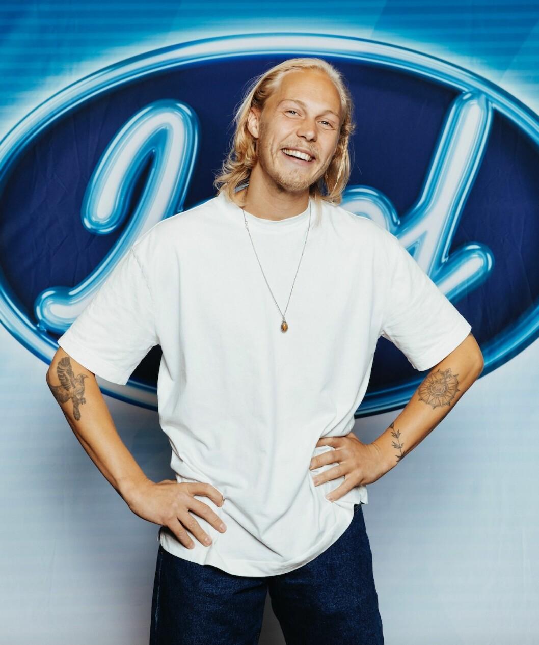 Caspar Camitz i idol 2020