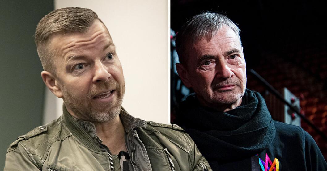 Casper Janebrink och Christer Björkman
