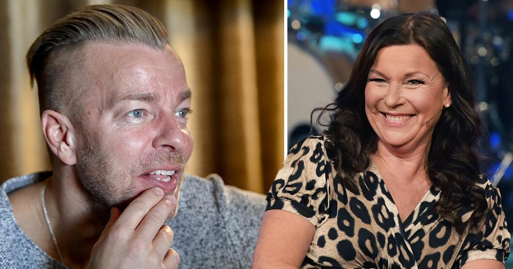 Casper Janebrink och Lotta Engberg