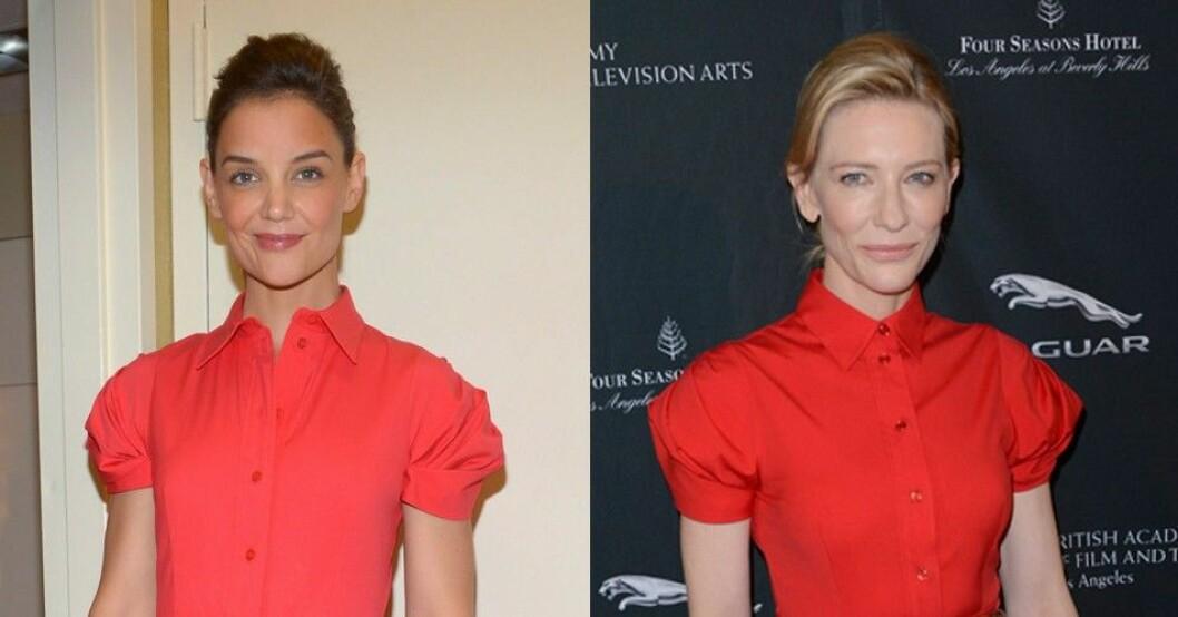 Katie Holmes Cate Blanchett