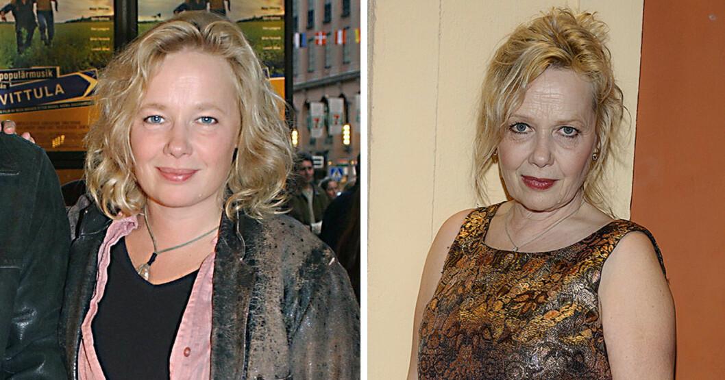 Cecilia Ljung 2004 och 2020.