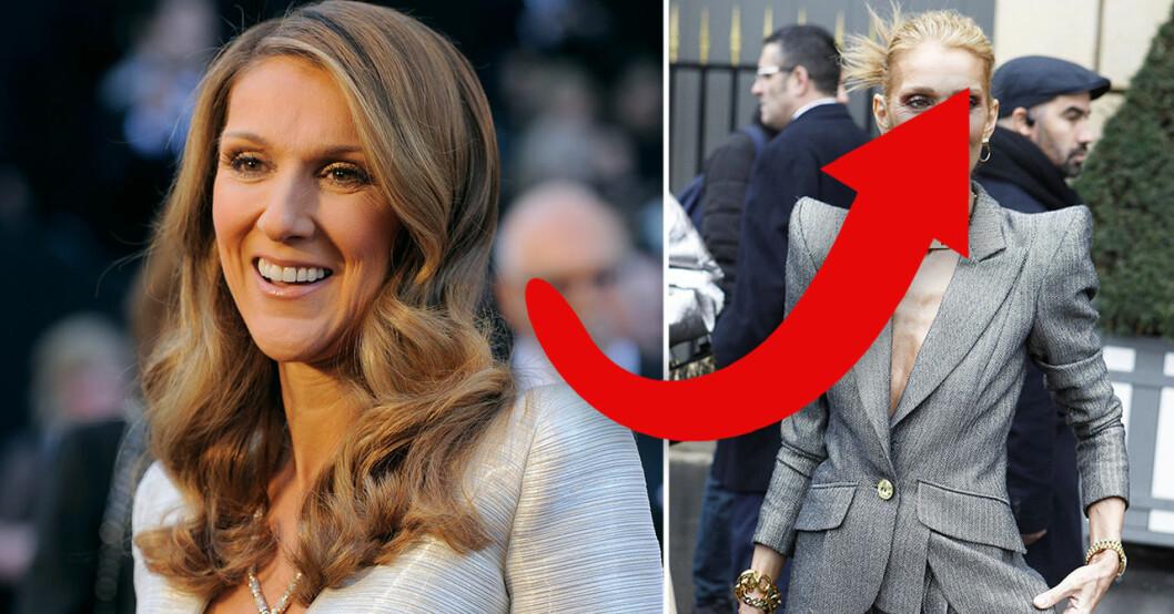 Céline Dions förvandling chockar fansen