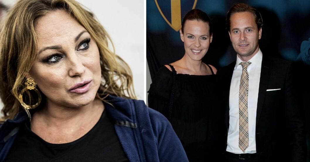 Charlotte Perrelli, Suzanne Sjögren och Anders Jensen