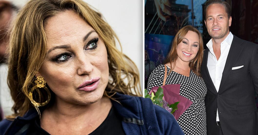 Charlotte Perrelli och maken Anders Jensens