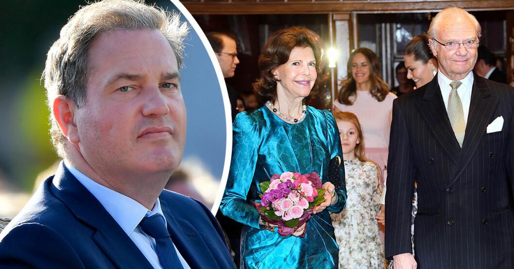 Chris O'Neills egna ord: Därför tar han avstånd från kungafamiljen
