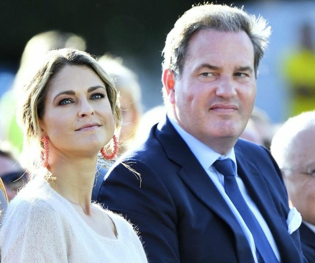 Prinsessan Madeleine och maken Chris O'Neill