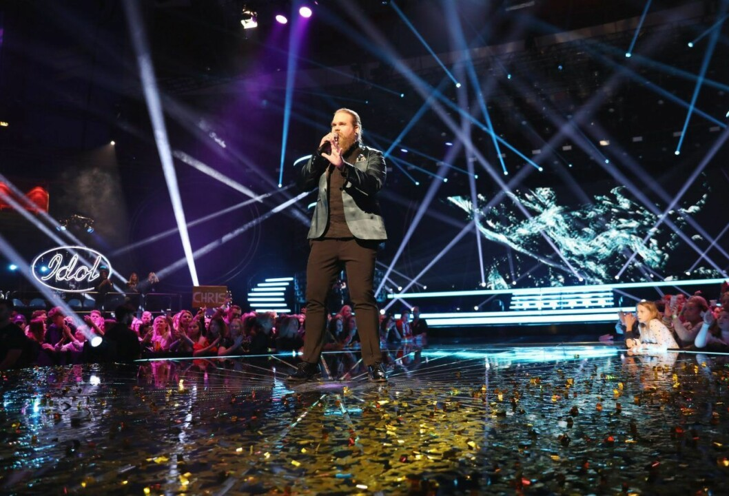 Chris Kläfford vinner idol 2017