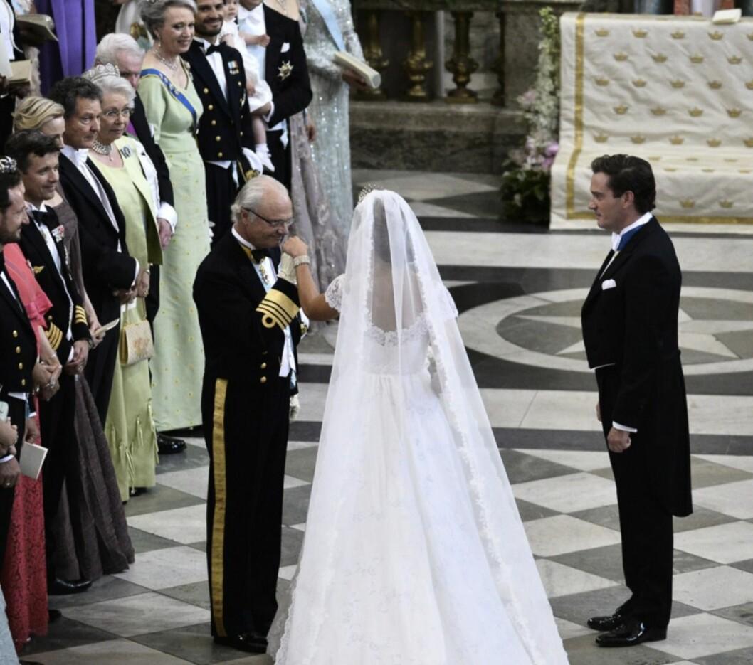 Chris O'Neill och prinsessan Madeleines bröllop år 2013