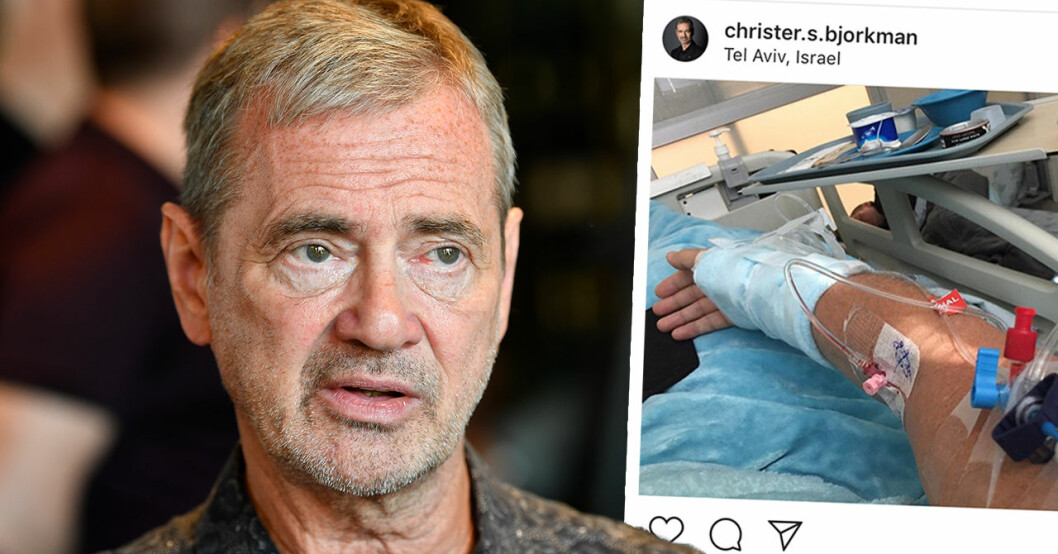 Christer björkmans besked efter kollapsen under Eurovision