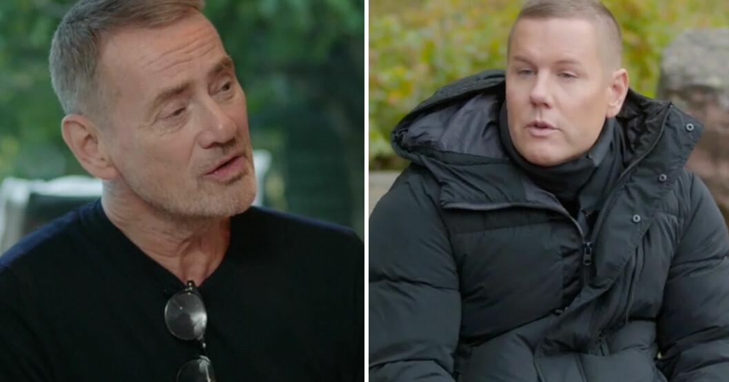 Christer Björkman och Martin Kagemark.