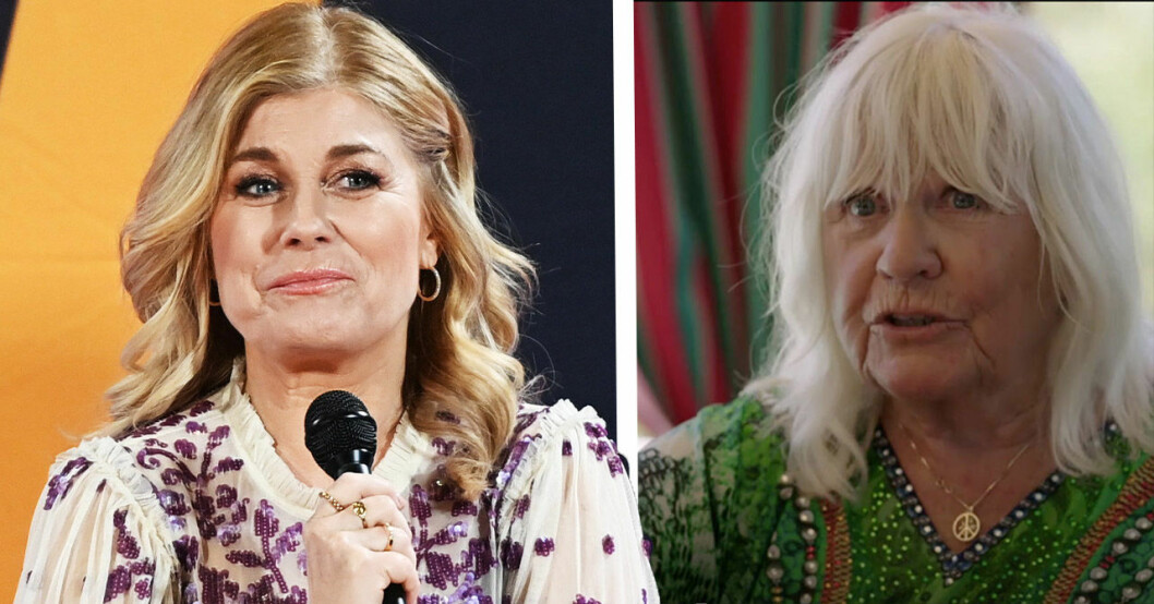 Christina Schollin pikar Pernilla Wahlgren