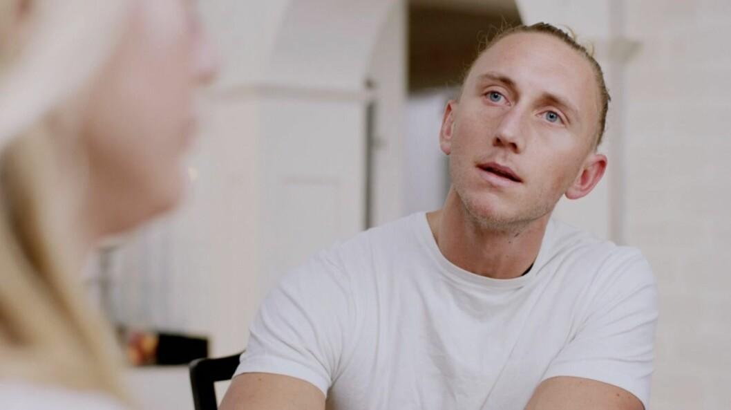 Christoffer Willén i en informationsfilm
