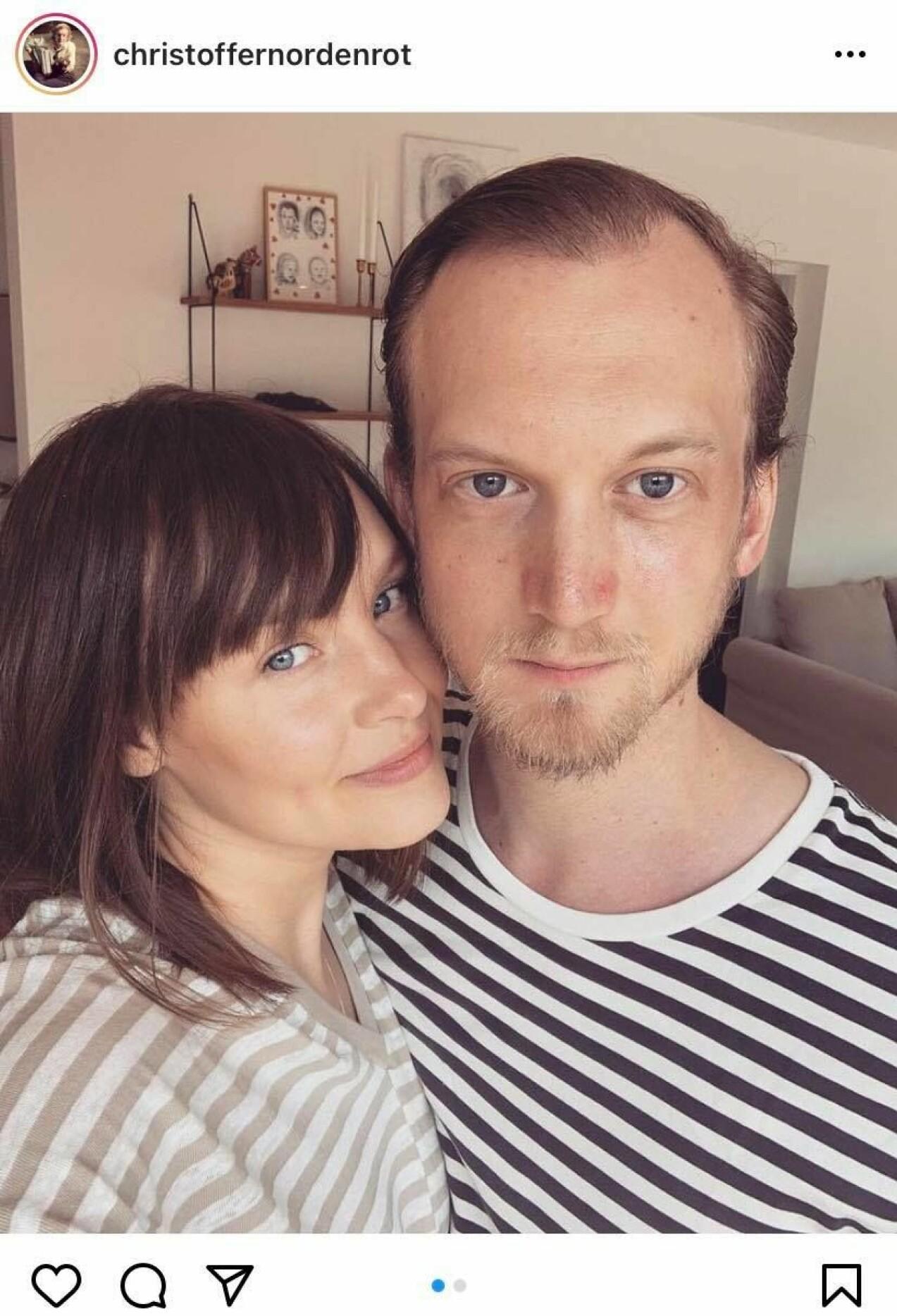 Christoffer Nordenrot och frun