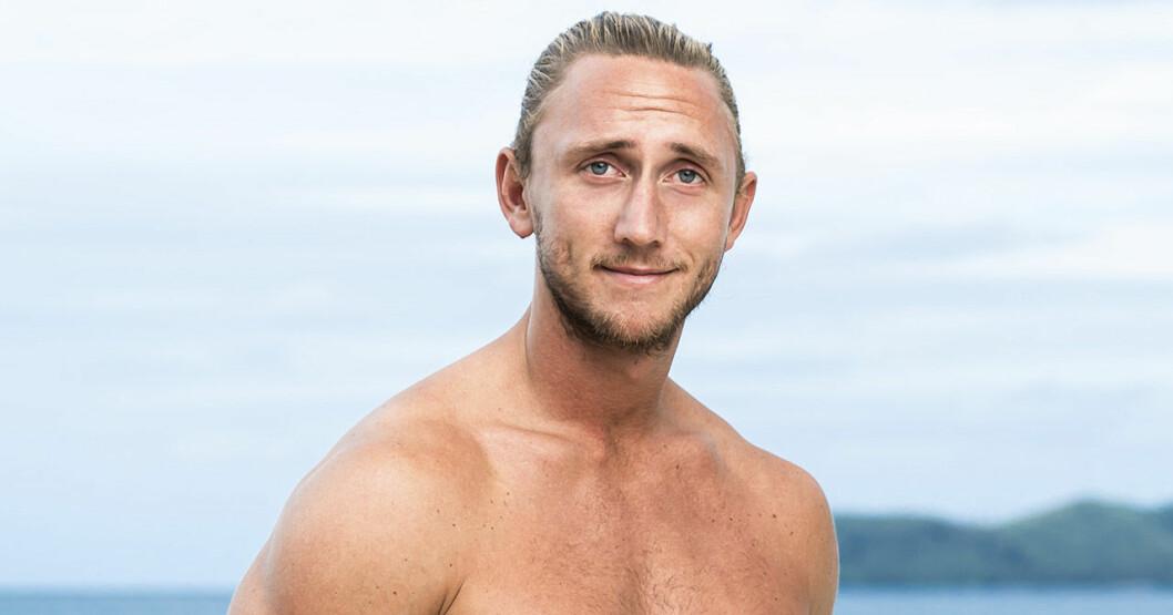 Christoffer Willén i Robinson 2020.