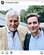 Christopher Wollter och sin pappa