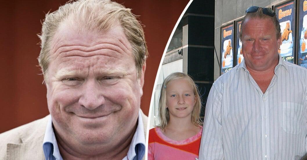 Claes Malmberg och dottern Amanda.