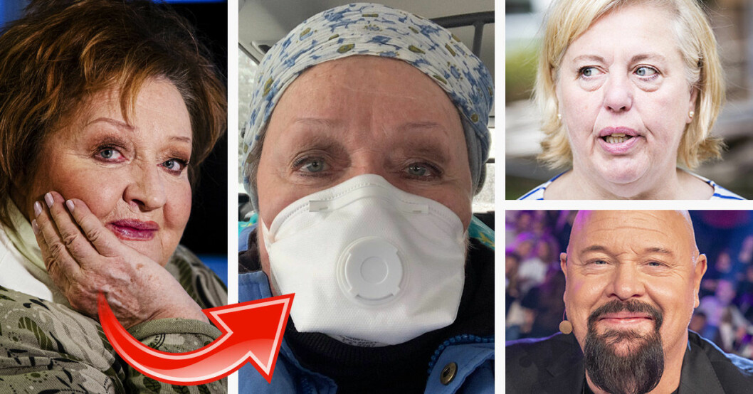 Marianne Mörck, Suzanne Axell och Anders Bagge känner oro inför coronoviruset.