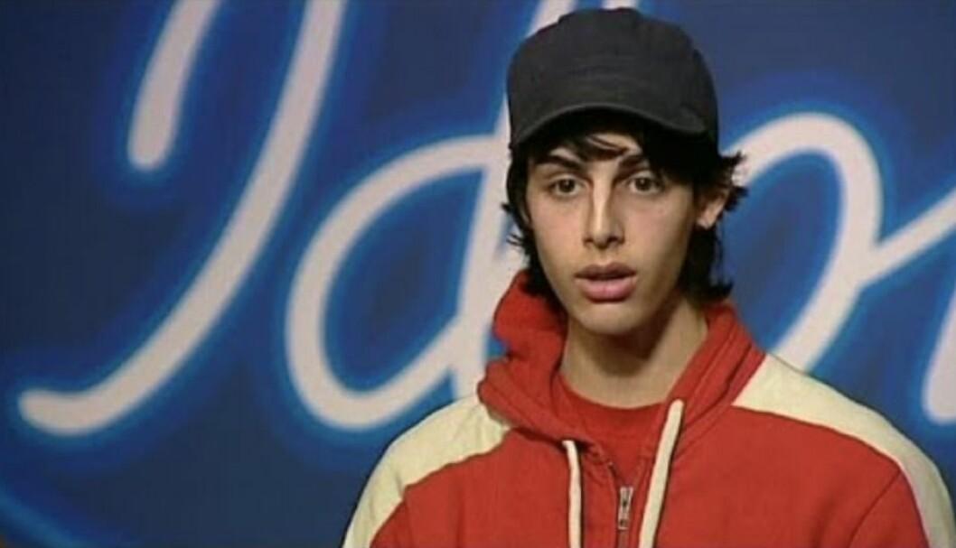Darin Zanyar på sin alldeles första Idol-audition